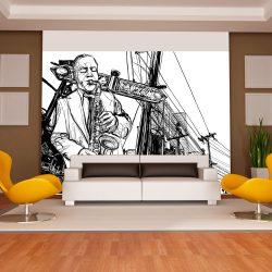 Fotótapéta - Saxophone recital on Broadway
