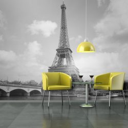 Fotótapéta - Seine and Eiffel Tower