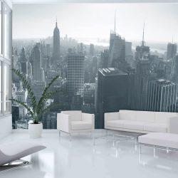 Fotótapéta - New York City skyline fekete-fehér