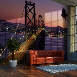 Fotótapéta - Charming evening in San Francisco