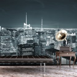 Fotótapéta - New York City éjszakai élet