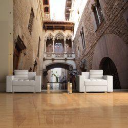 Fotótapéta - Barcelona Palau generalitat in gothic Barrio