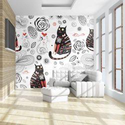 Fotótapéta - Cats in love