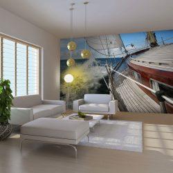 Fotótapéta - A hajó a tengeren