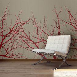 Fotótapéta - Red-hot branches