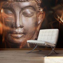 Fotótapéta - Buddha. Fire of meditation.