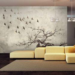 Fotótapéta - Flock of birds