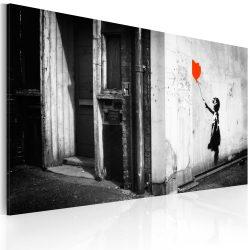 Kép - Girl with balloon (Banksy)