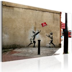 Kép - No ball games (Banksy)