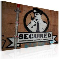 Kép - Secured (Banksy)