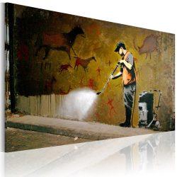 Kép - Whitewashing Lascaux (Banksy)