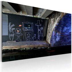 Kép - My own piece of floor (Banksy)