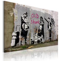 Kép - Old school (Banksy)