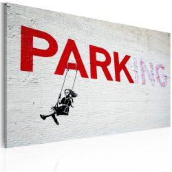 Kép - Parking (Banksy)