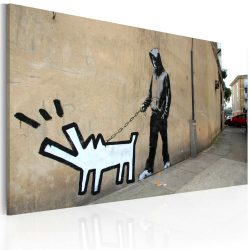 Kép - Barking dog (Banksy)