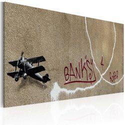 Kép - Love plane (Banksy)