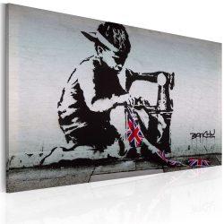Kép - Union Jack Kid (Banksy)
