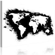 Kép - Monokróm map of the World