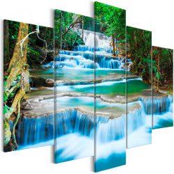Kép - Waterfall in Kanchanaburi (5 Parts) Wide