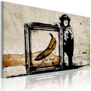 Kép - Inspired by Banksy - sepia