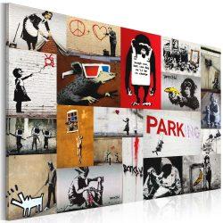 Kép - Banksy - collage