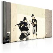 Kép - Sniper and Child by Banksy
