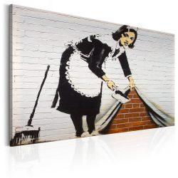 Kép - Maid in London by Banksy