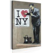 Kép - I Love New York by Banksy