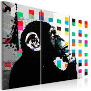 Kép - The Thinker Monkey by Banksy
