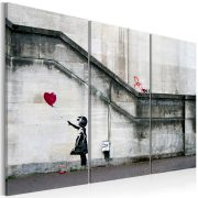 Kép - Girl With a Balloon by Banksy