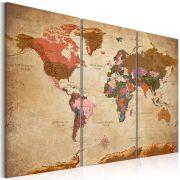Kép - Maps: Brown Elegance
