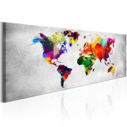 Kép - World Map: Coloured Revolution