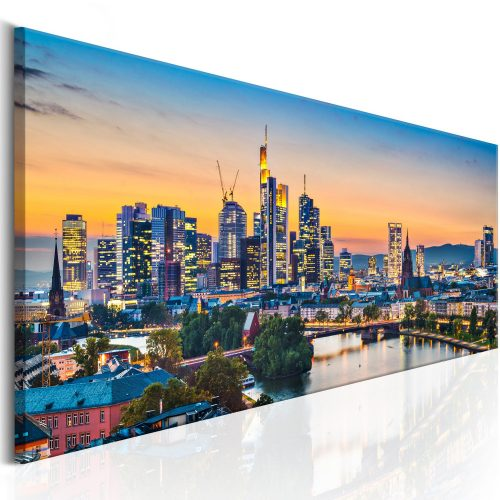 Kép - Evening in Frankfurt