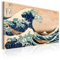Kép - The Great Wave off Kanagawa (Reproduction)