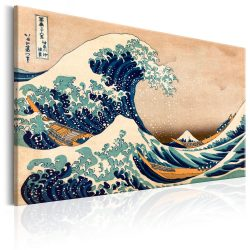 Kép - The Great Wave off Kanagawa (Reproduction)