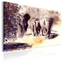 Kép - Watercolour Elephants