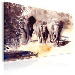 Kép - Watercolour Elephants