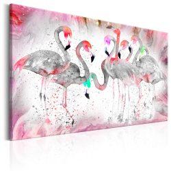 Kép - Flamingoes Family