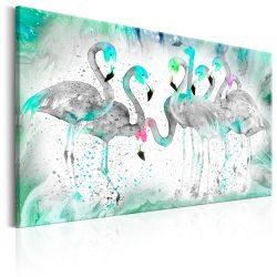 Kép - Turquoise Flamingoes