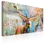 Kép - Deer on Wood