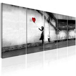 Kép - Banksy: Runaway Balloon