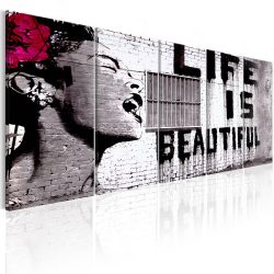 Kép - Banksy: Life is Beautiful