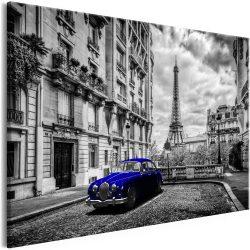 Kép - Car in Paris (1 Part) Blue Wide