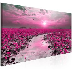Kép - Lilies and Sunset (1 Part) Narrow