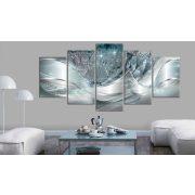 Kép - Sparkling Dandelions (5 Parts) Blue Wide