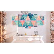 Kép - Oriental Triangles (5 Parts) Wide