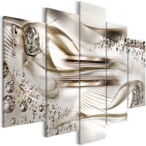 Kép - Underwater Harp (5 Parts) Wide Brown