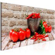 Kép - Red Vegetables (1 Part) Brick Narrow