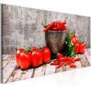 Kép - Red Vegetables (1 Part) Concrete Narrow