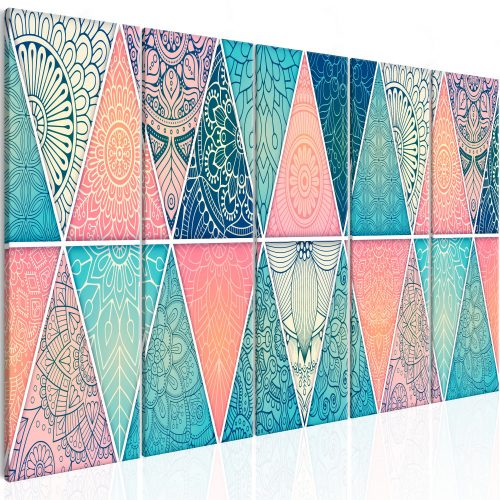 Kép - Oriental Triangles (5 Parts) Narrow